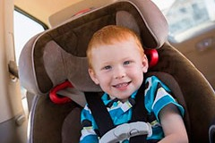 Child seats & luggage Airport transfer Durham