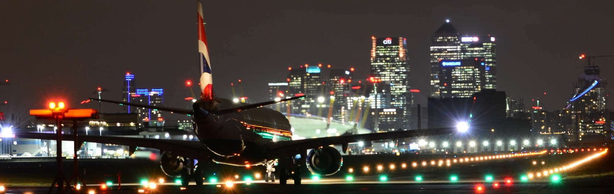 Flughafen london-city-lcy